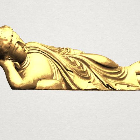 Sleeping Buddha (i) A06.png Download free STL file Sleeping Buddha 01 • 3D printable design, GeorgesNikkei