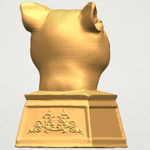 TDA0508 Chinese Horoscope of Rat 02 A05.png Download free STL file Chinese Horoscope of Rat 02 • 3D printable model, GeorgesNikkei