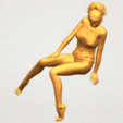 A01.png Download free STL file Naked Girl E04 • Template to 3D print, GeorgesNikkei
