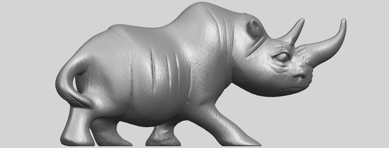 TDA0310_Rhinoceros_iiA06.png Download free STL file Rhinoceros 02 • 3D printing model, GeorgesNikkei