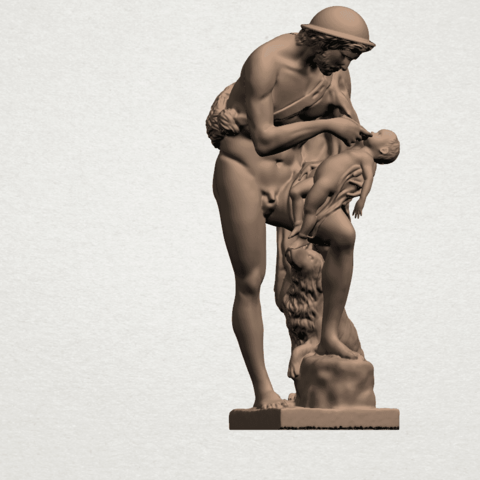 Father and Son (iii) A07.png Download free STL file Father and Son 3 • 3D print model, GeorgesNikkei