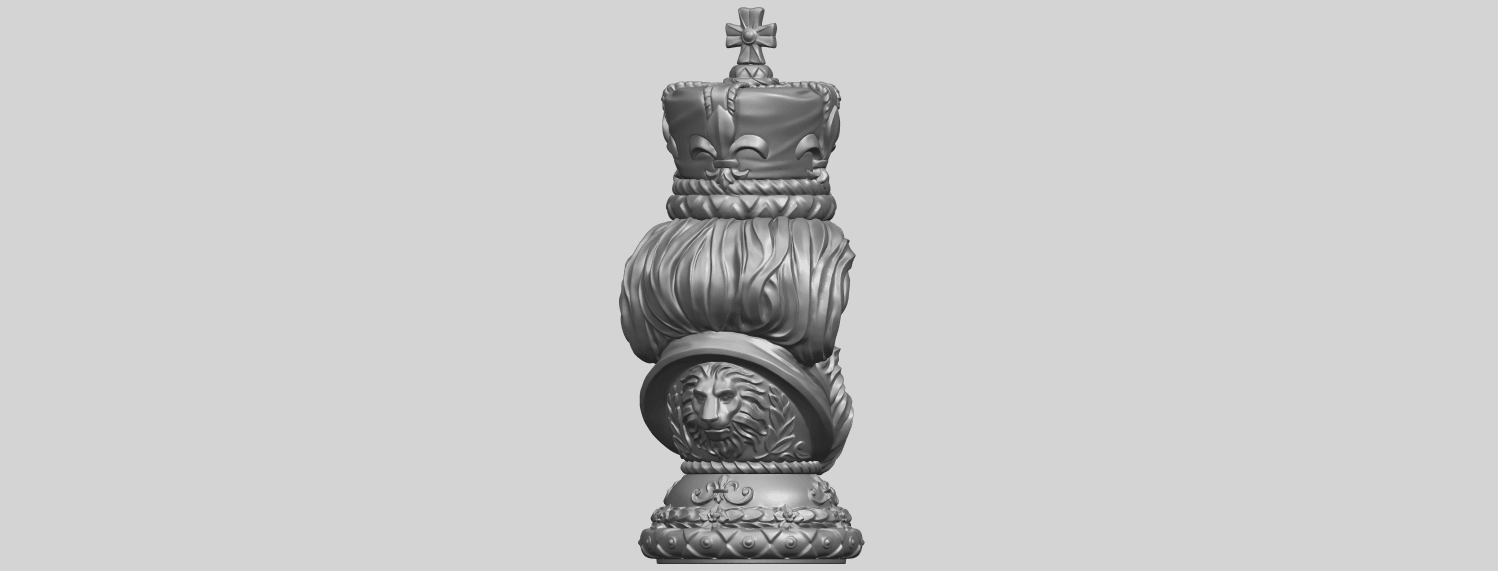 06_TDA0254_Chess-The_KingA07.png Download free STL file Chess-The King • 3D printer model, GeorgesNikkei