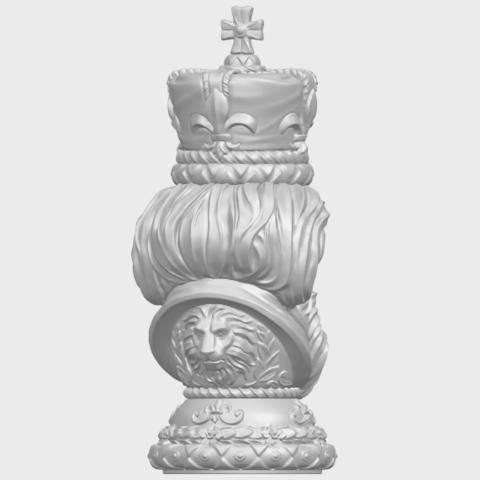 06_TDA0254_Chess-The_KingA07.png Télécharger fichier STL gratuit Chess-Le roi des échecs • Objet pour impression 3D, GeorgesNikkei