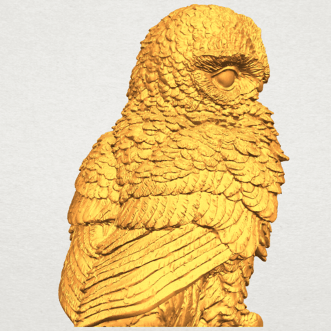A10.png Download free STL file Owl 04 • 3D printable object, GeorgesNikkei