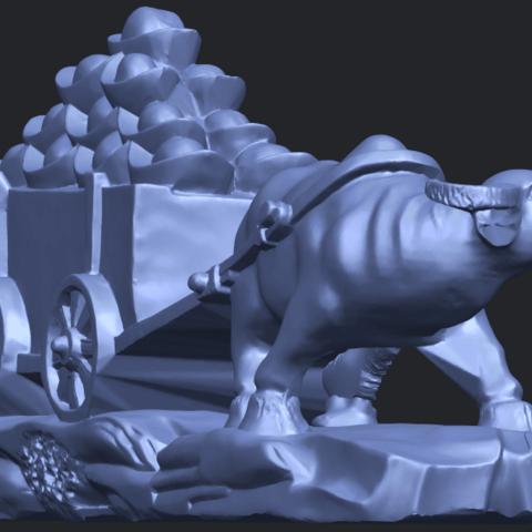 17_TDA0315_Golden_CarB08.png Download free STL file Golden Car • 3D printer template, GeorgesNikkei
