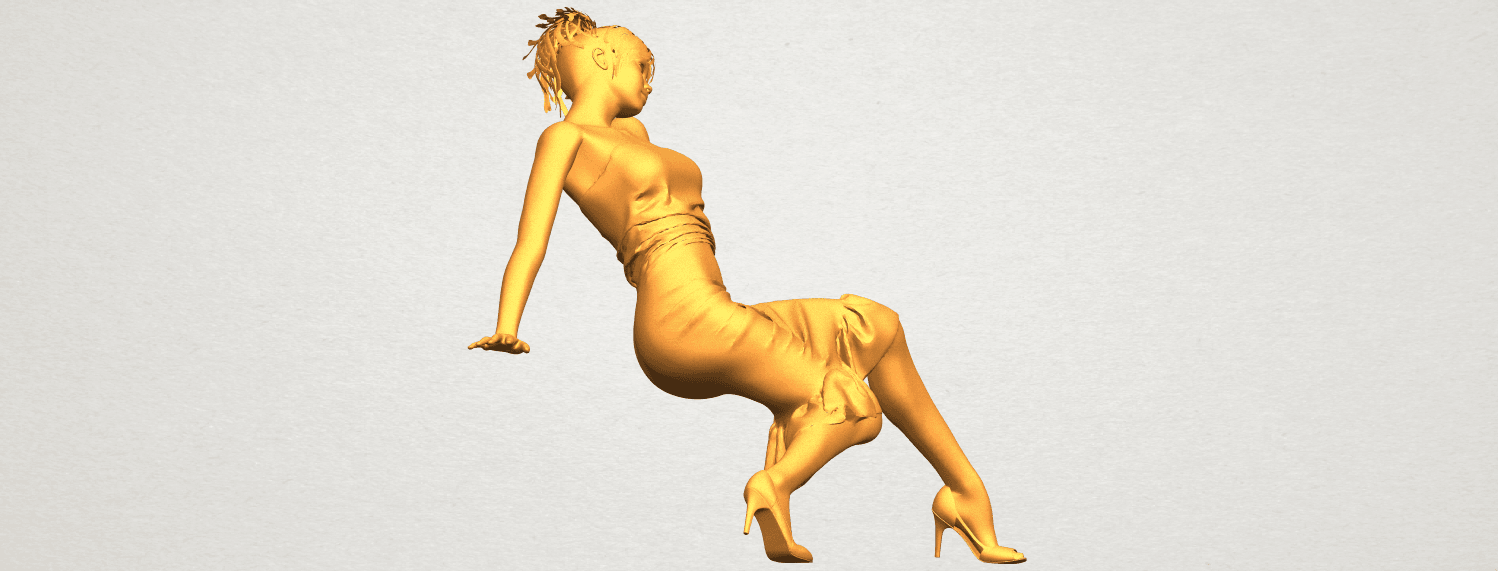A09.png Download free STL file Naked Girl G05 • 3D printing object, GeorgesNikkei