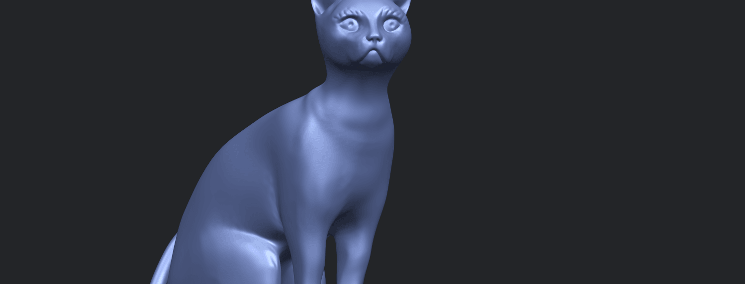 02_TDA0576_Cat_01A10.png Download free STL file Cat 01 • Design to 3D print, GeorgesNikkei