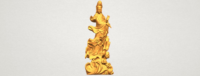 TDA0298 Avalokitesvara Bodhisattva - Standing (vi) A01.png Télécharger fichier STL gratuit Avalokitesvara Bodhisattva - Debout 06 • Objet pour impression 3D, GeorgesNikkei