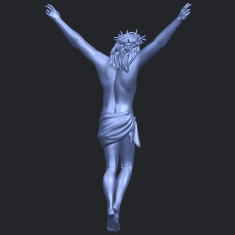 05_TDA0231_Jesus_(ii)_88mmB07.png Download free STL file Jesus 02 • 3D printing template, GeorgesNikkei