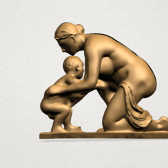 Free 3D printer model Mother and Child 04, GeorgesNikkei