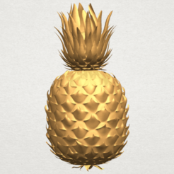 Free 3d print files Pineapple, GeorgesNikkei