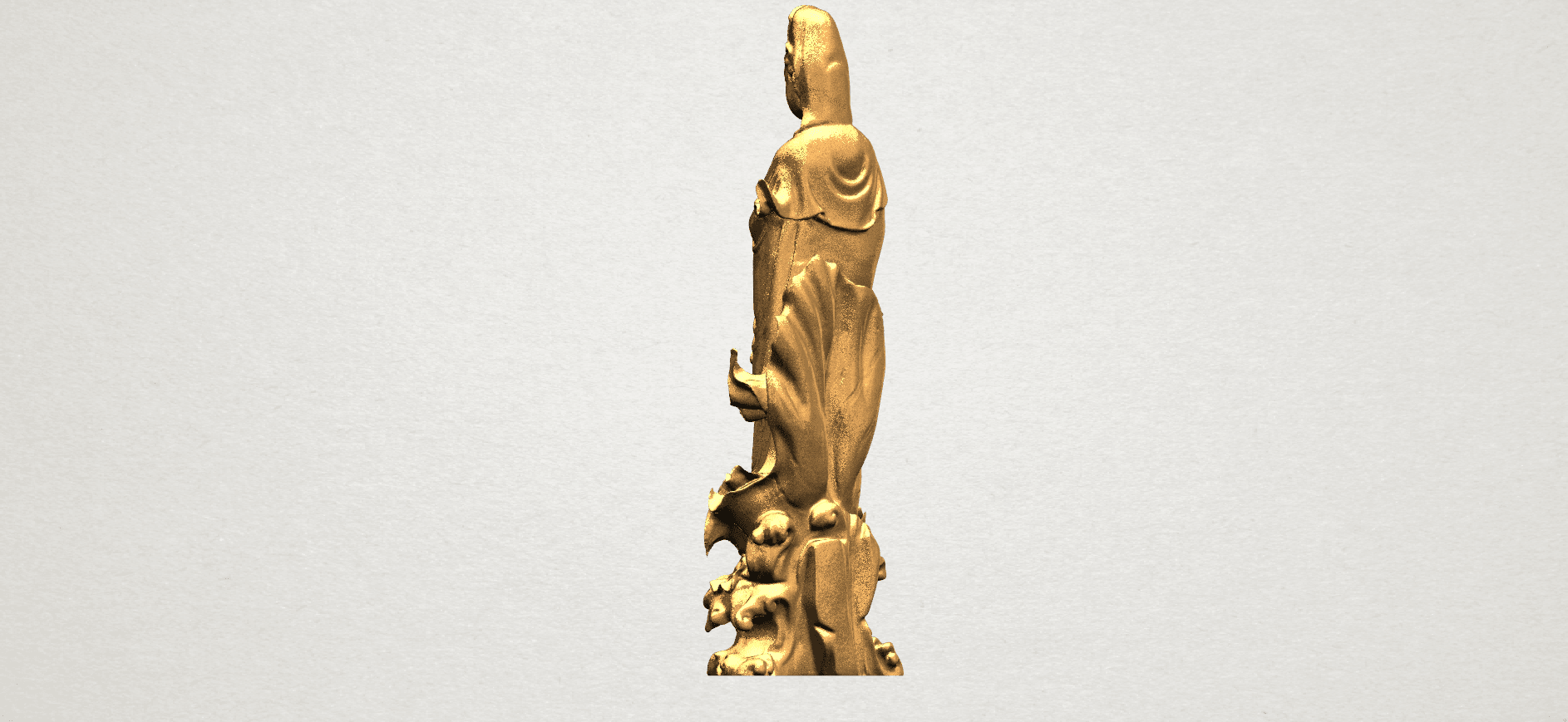 Avalokitesvara Buddha  award kid (i) A05.png Download free STL file Avalokitesvara Bodhisattva - award kid 01 • 3D print object, GeorgesNikkei