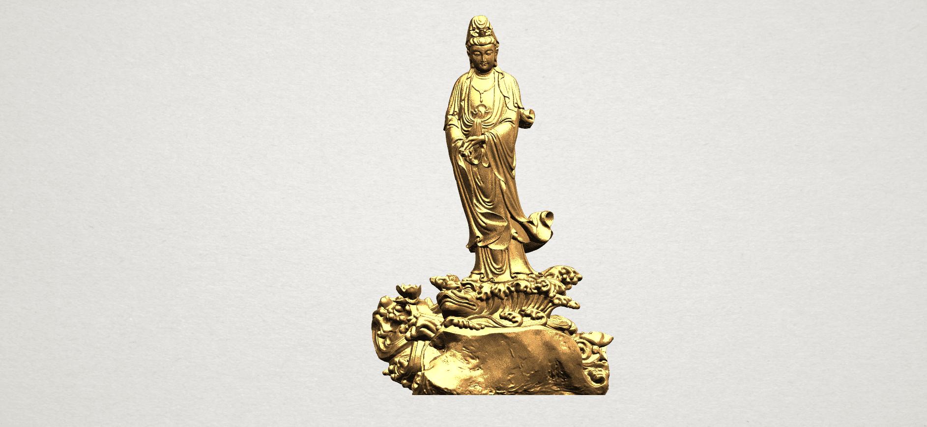 Avalokitesvara Buddha - Standing (ii) A01.png Download free STL file Avalokitesvara Bodhisattva - Standing 02 • Design to 3D print, GeorgesNikkei