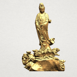 Avalokitesvara Buddha - Standing (ii) A01.png Télécharger fichier STL gratuit Avalokitesvara Bodhisattva - Debout 02 • Plan pour impression 3D, GeorgesNikkei