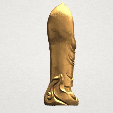 Gautama Buddha Standing (iv) A05.png Download free STL file Gautama Buddha Standing 04 • 3D printable design, GeorgesNikkei