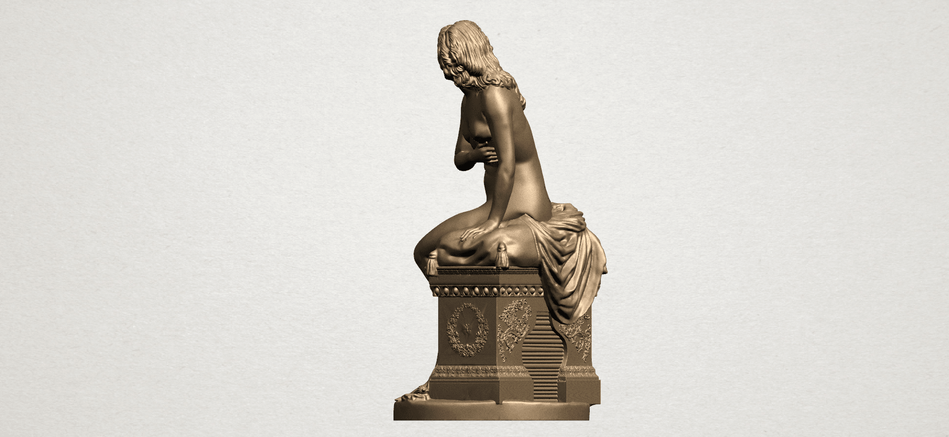 Naked Girl (i) A04.png Download free STL file Naked Girl 01 • 3D printing model, GeorgesNikkei