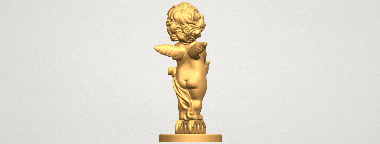 TDA0479 Angel Baby 02 A04.png Télécharger fichier STL gratuit Bébé Ange 02 • Plan pour imprimante 3D, GeorgesNikkei