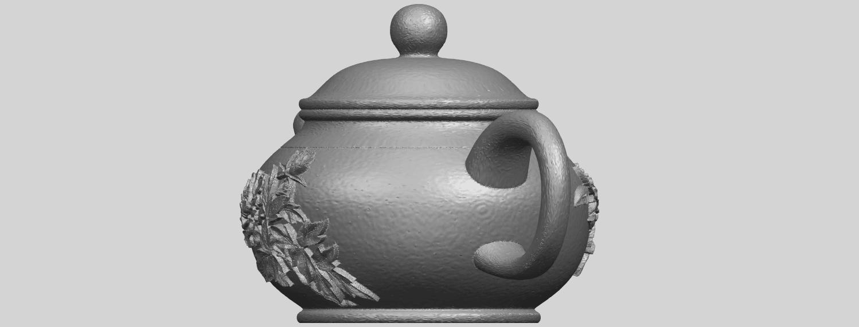 02_TDA0324_Tea_Pot_iiiA03.png Download free STL file Tea Pot 03 • 3D printing template, GeorgesNikkei