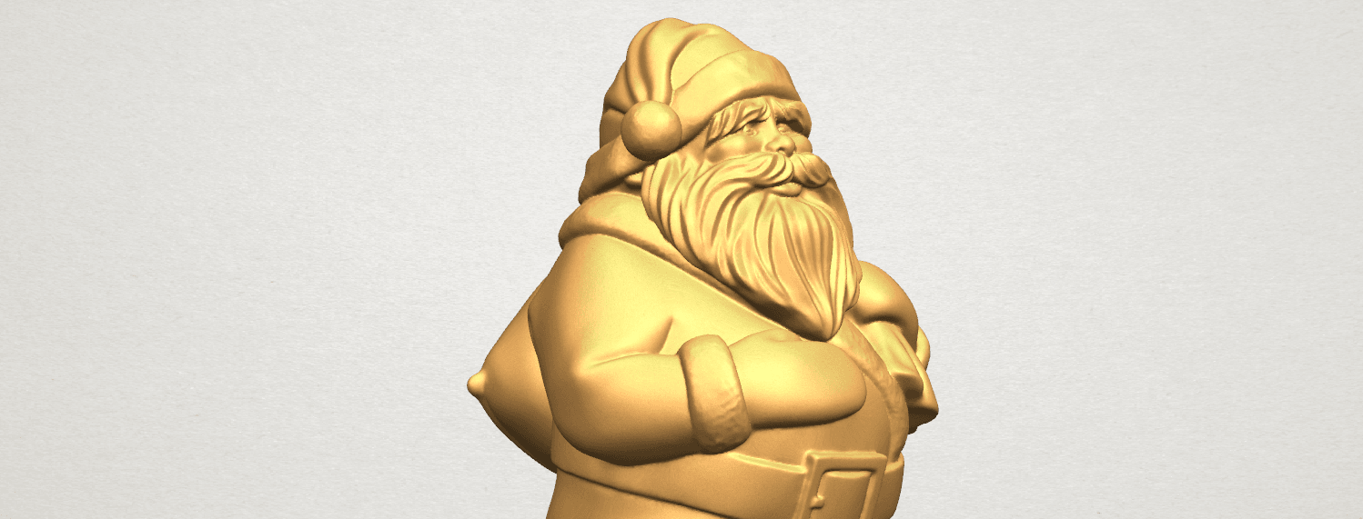 TDA0579 Santa Claus A09.png Download free STL file Santa Claus • Object to 3D print, GeorgesNikkei