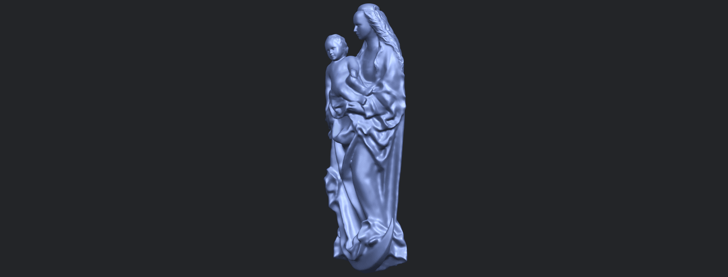 18_TDA0203_Mother_and_Child_(vi)_-88mmstlB03.png Download free STL file Mother and Child 06 • 3D printing template, GeorgesNikkei