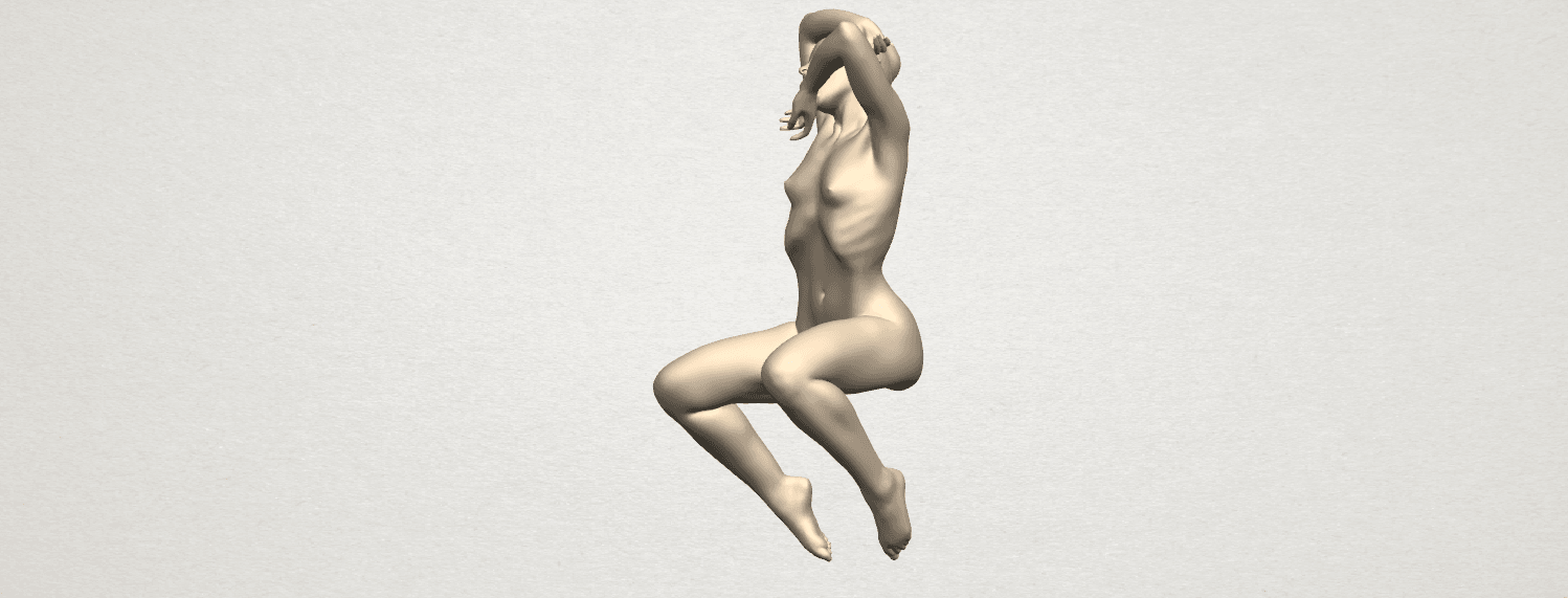 TDA0280 Naked Girl A07 02.png Download free STL file Naked Girl A07 • 3D printable template, GeorgesNikkei