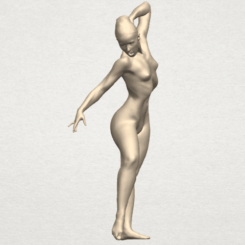 TDA0278 Naked Girl A05 05.png Download free STL file Naked Girl A05 • 3D printer template, GeorgesNikkei