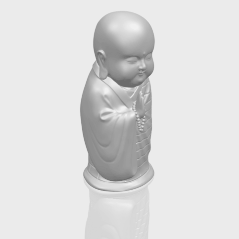 Little_Monk_80mmA00-1.png Download free STL file Little Monk 01 • 3D printable design, GeorgesNikkei