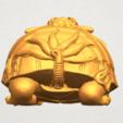 TDA0333 Dragon  Tortoise A03.png Download free STL file Dragon  Tortoise • Model to 3D print, GeorgesNikkei