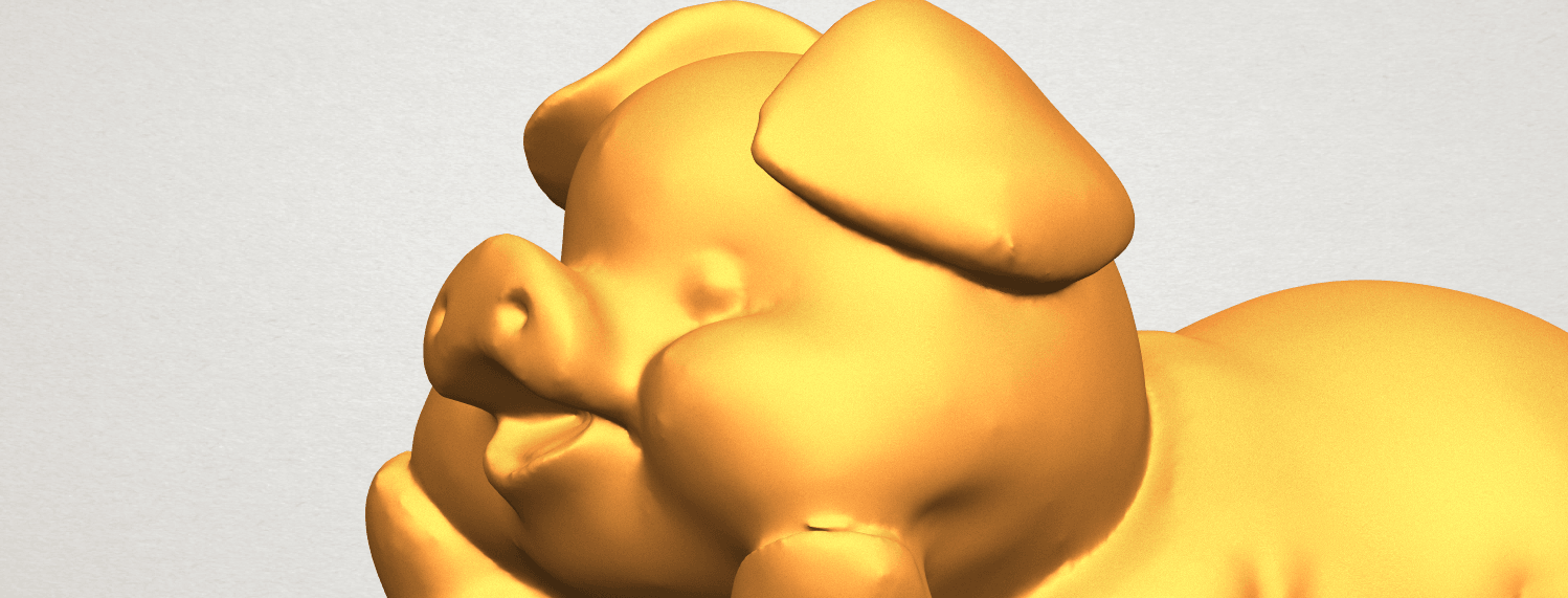 A11.png Download free STL file Pig 01 • 3D printing object, GeorgesNikkei
