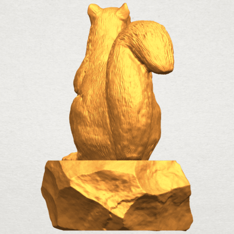 A03.png Download free STL file Squirrel 01 • Model to 3D print, GeorgesNikkei