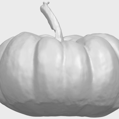 17_TDA0614_Pumpkin_02A08.png Download free STL file Pumpkin 02 • 3D print template, GeorgesNikkei