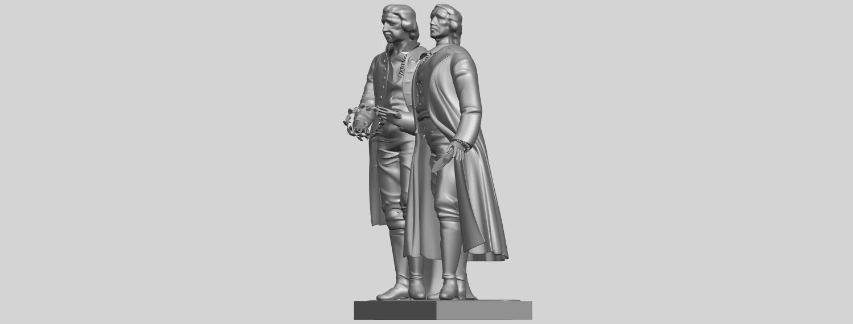 15_Goethe_schiller_80mmA03.png Télécharger fichier STL gratuit Goethe Schiller • Modèle imprimable en 3D, GeorgesNikkei
