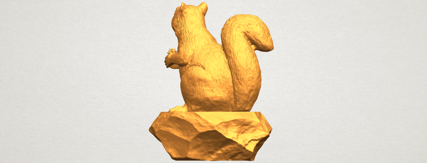 A02.png Download free STL file Squirrel 01 • Model to 3D print, GeorgesNikkei