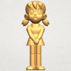 Archivos 3D gratis Minamoto Shizuka, GeorgesNikkei