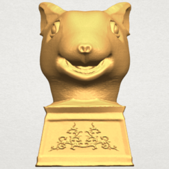Free 3d printer designs Chinese Horoscope of Rat 02, GeorgesNikkei
