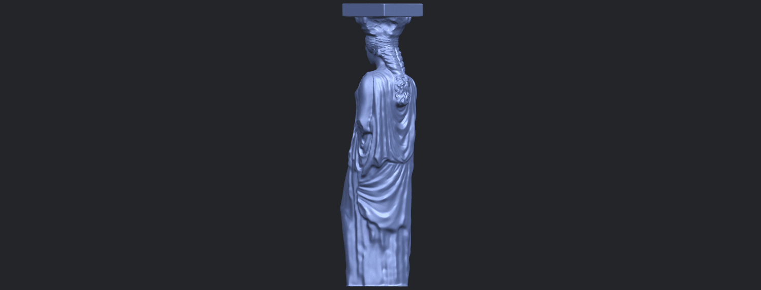 19_Pose_with_Girl_80mmB05.png Download free STL file Pose with Girl • 3D printable template, GeorgesNikkei