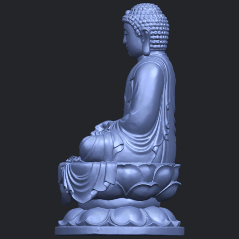 01_TDA0174_Gautama_Buddha_(ii)__88mmB04.png Download free STL file Gautama Buddha 02 • 3D print template, GeorgesNikkei