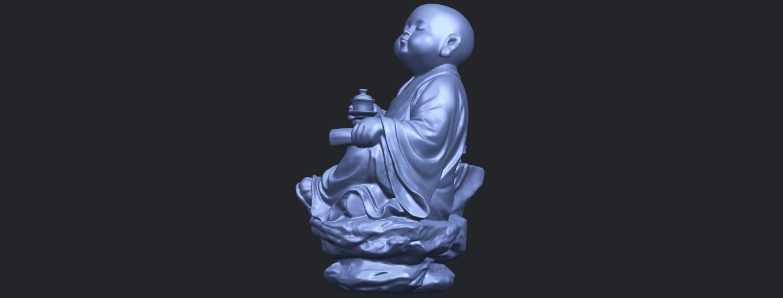17_TDA0558_Little_Monk_Drink_TeaB04.png Télécharger fichier STL gratuit Boire du thé Little Monk Drink Tea • Design à imprimer en 3D, GeorgesNikkei