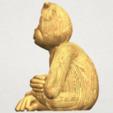 TDA0606 Chimpanzee A03.png Télécharger fichier STL gratuit Chimpanzé • Design imprimable en 3D, GeorgesNikkei