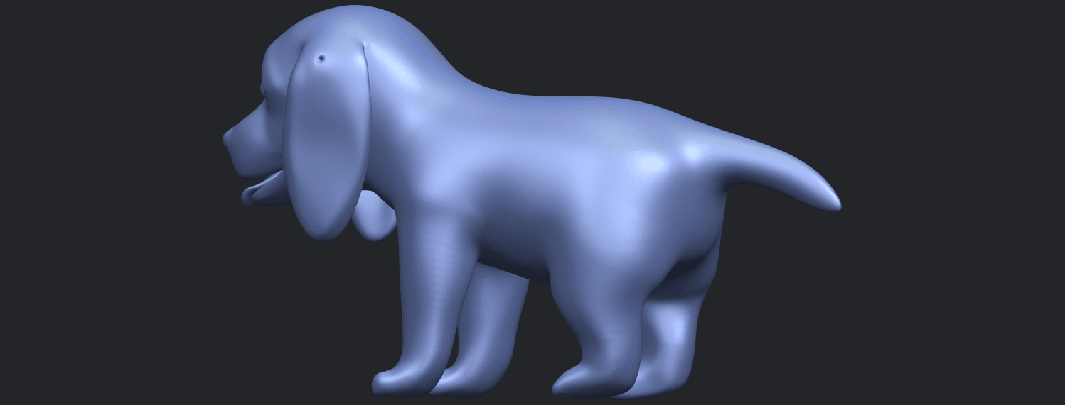 15_TDA0533_Puppy_01B07.png Download free STL file Puppy 01 • 3D printer template, GeorgesNikkei