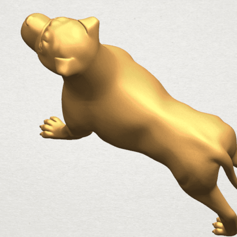 TDA0524 Bull Dog 05 A10.png Download free STL file Bull Dog 05 • 3D printer design, GeorgesNikkei