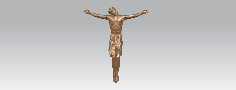 TDA0230 Jesus (iii) A02.png Download free STL file Jesus 03 • 3D printable template, GeorgesNikkei