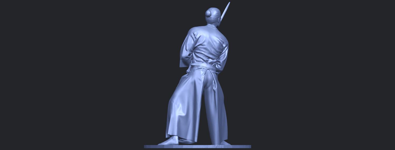 05_TDA0544_Japanese_WarriorB06.png Download free STL file Japanese Warrior • 3D printer model, GeorgesNikkei