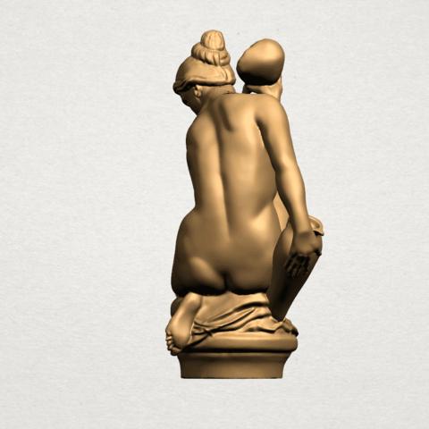 Naked Girl - With Pot - A06.png Télécharger fichier STL gratuit Fille Nue - Avec Pot • Modèle à imprimer en 3D, GeorgesNikkei