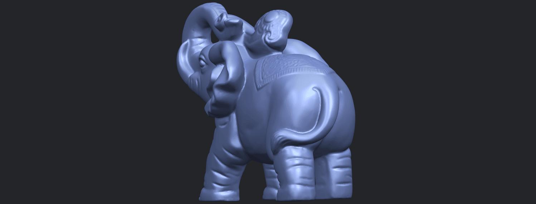 09_Elephant_02_150mmB06.png Télécharger fichier STL gratuit Eléphant 02 • Plan imprimable en 3D, GeorgesNikkei