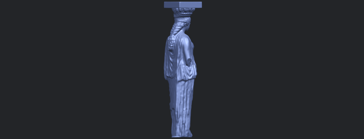 19_Pose_with_Girl_80mmB08.png Download free STL file Pose with Girl • 3D printable template, GeorgesNikkei
