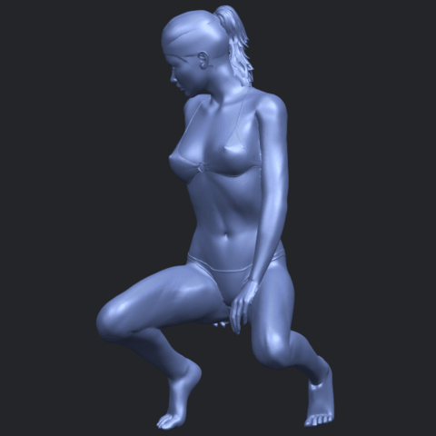 15_TDA0634_Naked_Girl_D04B03.png Download free STL file Naked Girl D04 • 3D printable template, GeorgesNikkei