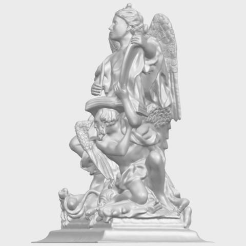 17_TDA0206_Angel_viA03.png Télécharger fichier STL gratuit Ange 06 • Modèle pour imprimante 3D, GeorgesNikkei