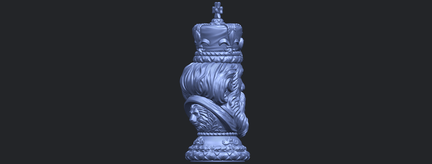06_TDA0254_Chess-The_KingB08.png Download free STL file Chess-The King • 3D printer model, GeorgesNikkei