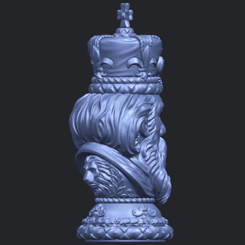 06_TDA0254_Chess-The_KingB08.png Télécharger fichier STL gratuit Chess-Le roi des échecs • Objet pour impression 3D, GeorgesNikkei